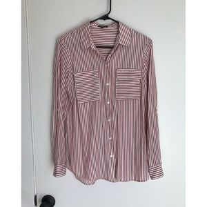 Express Portofino Button Down Too Size Small